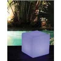 TABLE BASSE CUBE LUMINEUSE POOLSTYLE K970WBX/EU